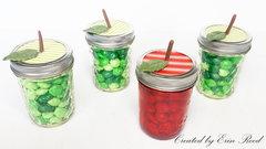 Candy Apple Jars w/video