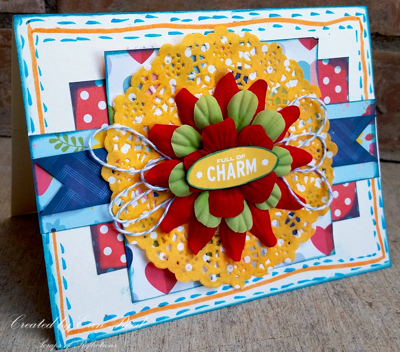 Charm **TOmbow * Paper Issues** Blog Hop