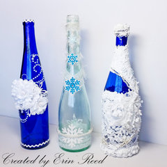 Deco Winter Bottles **w/video**