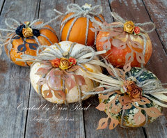 Deco Pumpkins w/tutorial