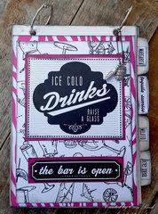 Drink Recipie Book **Canvas Corp & 7 Gypsies**