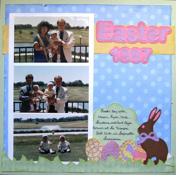 Easter 1987 **RSMobley Designs**