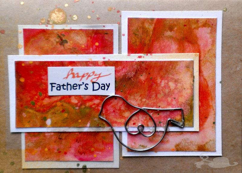 happy father's day **Flamingo Scraps**