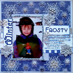 Frosty **Robin's Nest & ULD & Imagaintion Crafts**