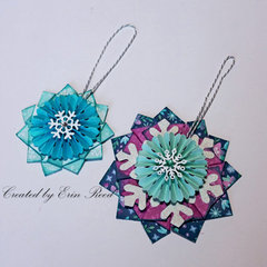 Snowflake Ornaments w/video
