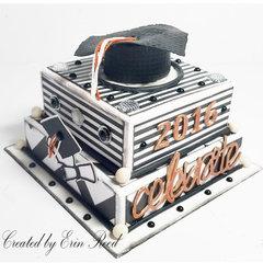 Grad Faux Cake
