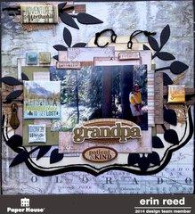 grandpa **Paper House & Eveolution-Scrap**