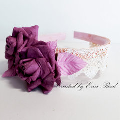 Floral Headband w/video