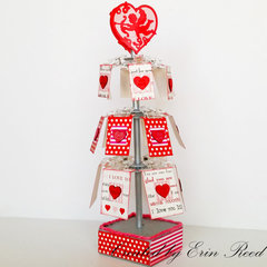 Heart Clip Tree w/video