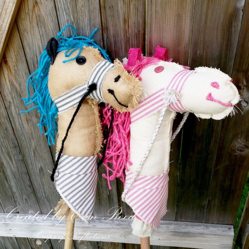 Stick Hobby Horses w. video tutorial