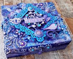 Imagine Altered Box **Tattered Angels & ULD & Imagination Crafts**