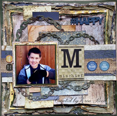 M is for Mischief w/ video tutorial