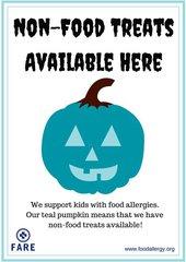 Teal Pumpkin Project - Sign