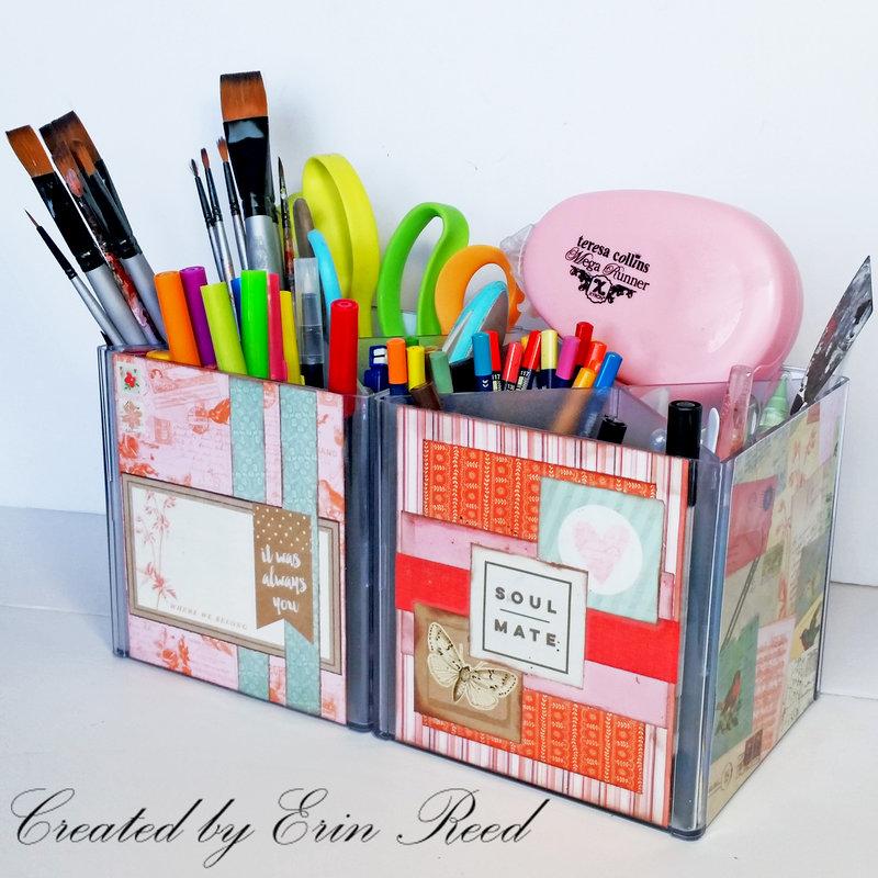 """Love of crafting"" craft tool organizer  **w/Tutorial!!"