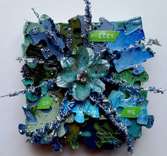 Pieces of Me  **Canvas Corp & Tattered Angels & Imagination Crafts**