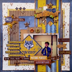 Cub Scout **Paper House & Unique Laser Designs**