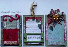 Christmas Tags - 2 **Susan K. Weckesser & ScrapPlezier**