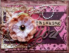 Thinking of You **ScrapPlezier & Susan K. Weckesser w/ TCW**