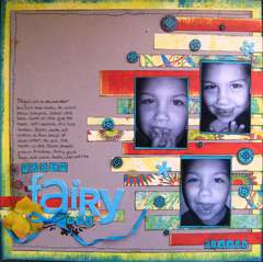 tooth Fairy  **Scrapbook kits by Scrap with V**