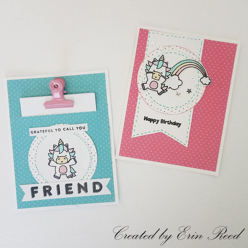 Unicorn Flip Book Cards