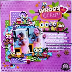 Whoo's the Cutest?  ** Paper House & Tattered Angels** w. Video