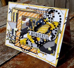 wonderful **Tombow & Paper Issues & Die~Namties Dies** Blog Hop