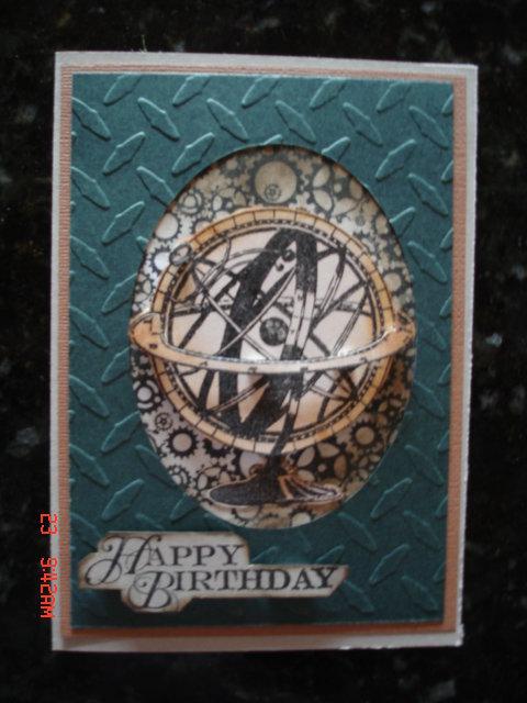 Happy Birthday- male card