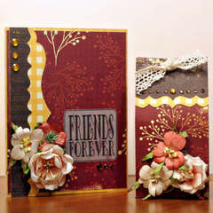 Friends Forever Card and Gift Bag