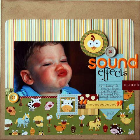 Sound Effects by Tracey Wilder