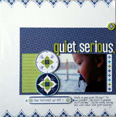 Quiet Serious by Tracey Wilder