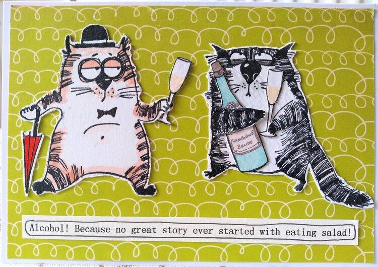 Snarky Cat Wisdom