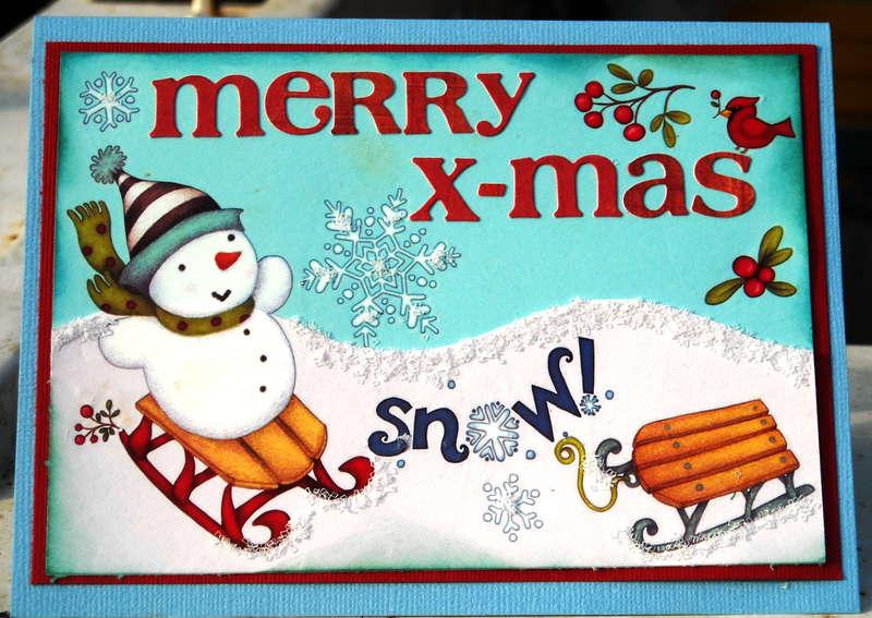 MERRY X-MAS SNOW