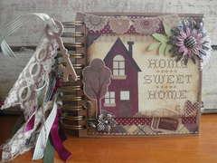 Home Sweet Home Mini Chipboard Album