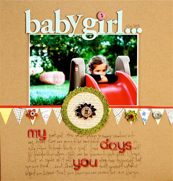 baby girl **STUDIO CALICO DECEMBER**