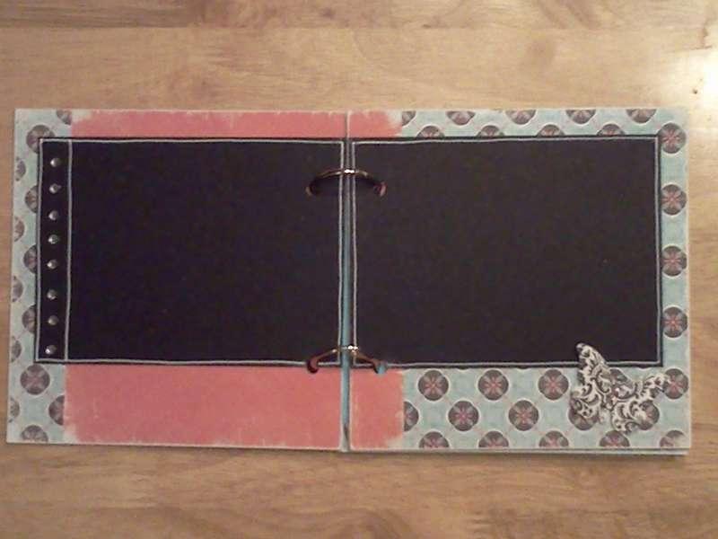 Tiffany Chipboard Album #2