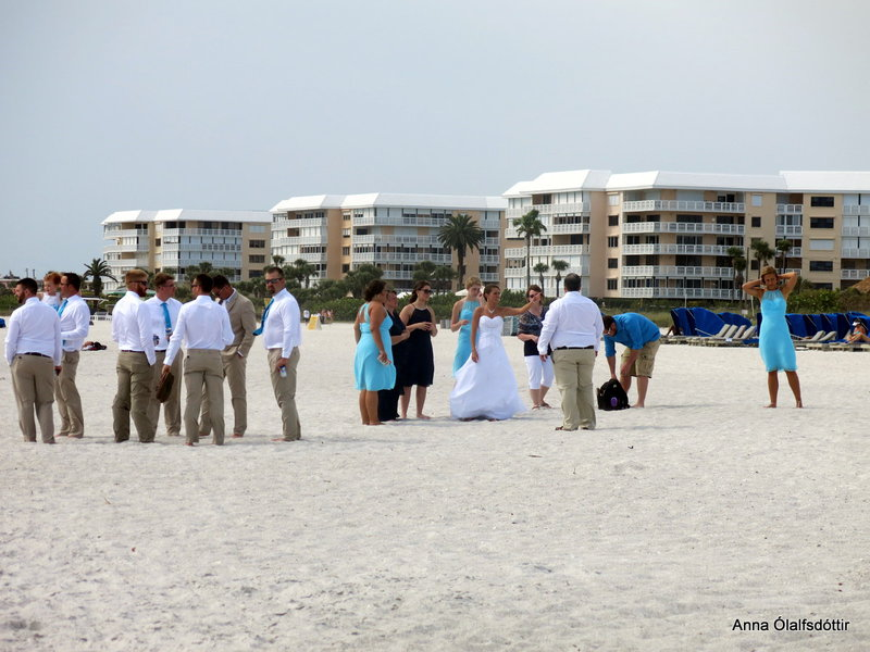 Wedding on the beach.