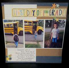 First Day of 1st Grade