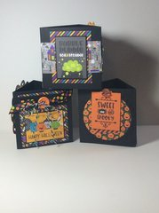 Pumpkin Party candy boxes