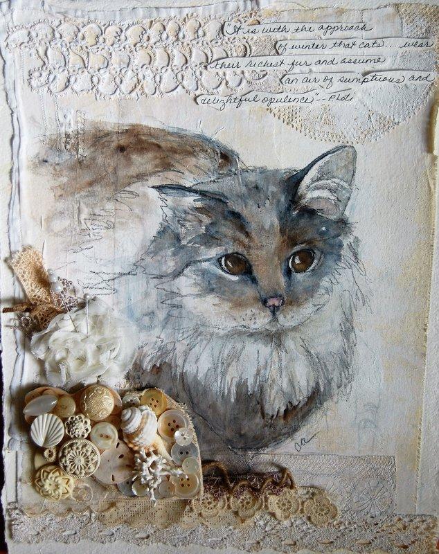 Cats ... winter coats