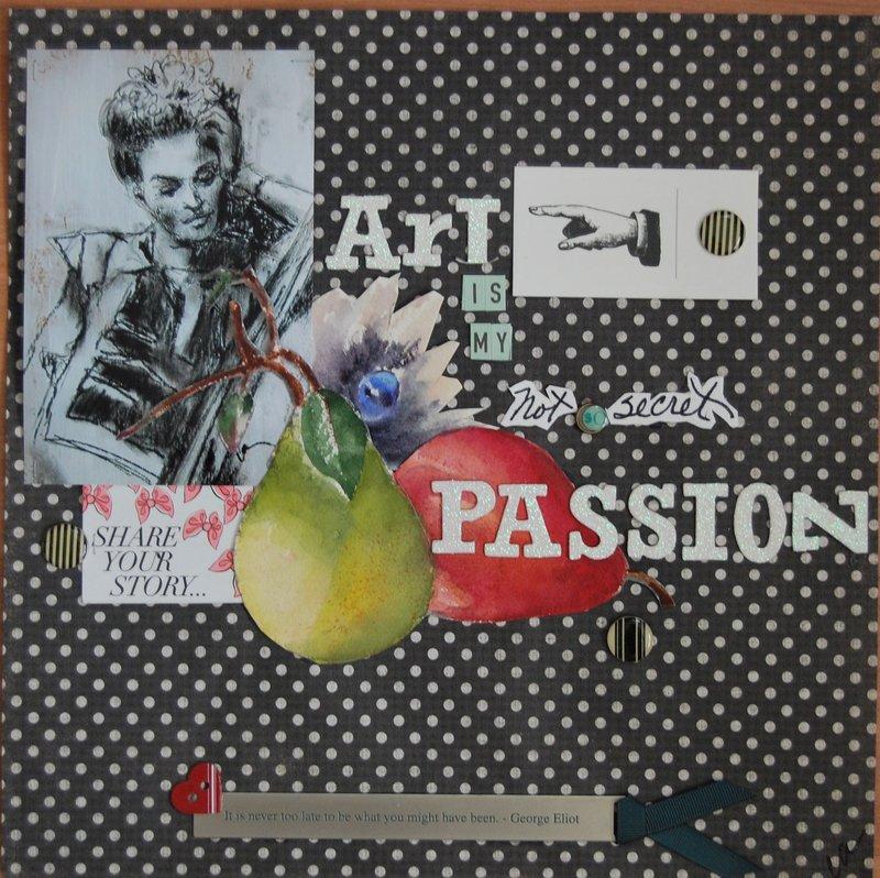Art is my not so secret Passion