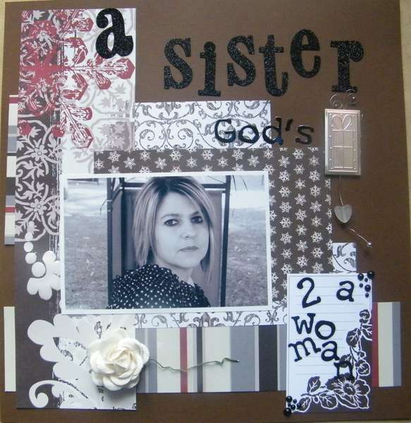 a Sister, God's gift to a woman