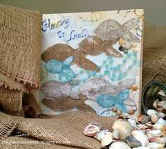Flowing to create - Art Journal Page