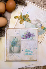 Easter cards with a vintage touch