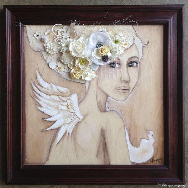"Wedded Bliss ""Charity Wings"" Prima Marketing"