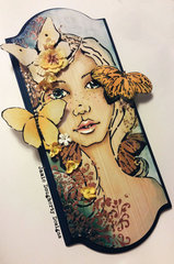 Flutterby Bloom Girl Jamie Dougherty *Prima