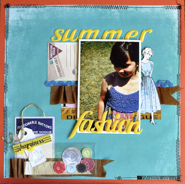 Summer Fashions *Scrapbook Adhesives*