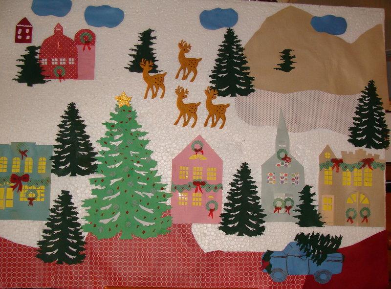 Diecuttville Christmas Wall hanging