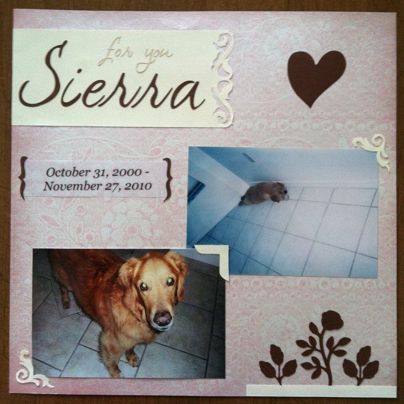 In Memory of Sierra <3