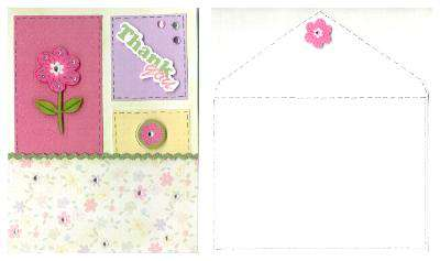 Shelli Thank you card from Scraps