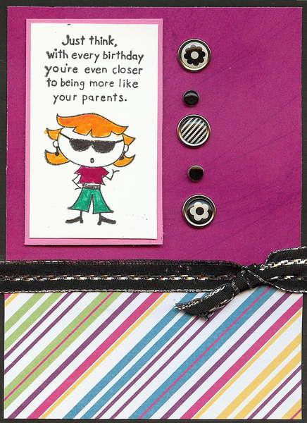 Teen birthday Card
